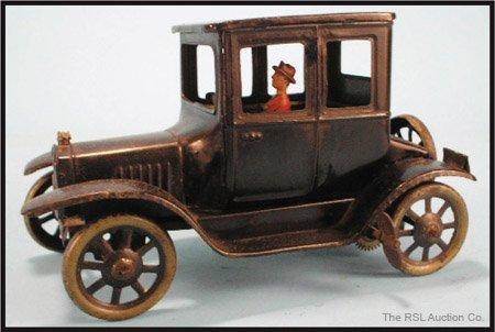 7: BING FORD MODEL T WIND-UP TIN CAR