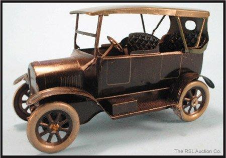 8: OROBR GERMAN LITHO TIN TOURING CAR WIND-UP