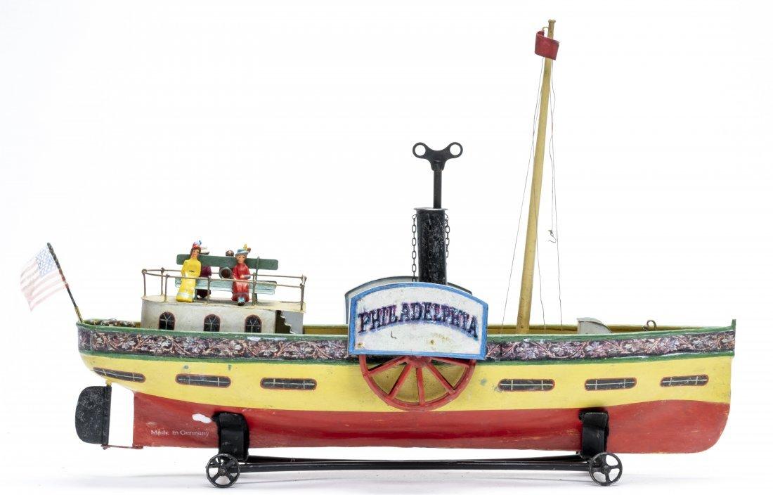 "Lutz ""Philadelphia"" Paddlewheel Boat"