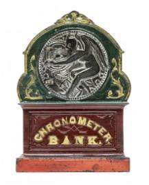 Chronometer Iron Mechanical Bank