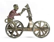 Monkey & Dog Bell Toy