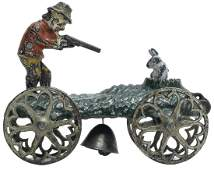 The Rabbit Hunter Bell Toy