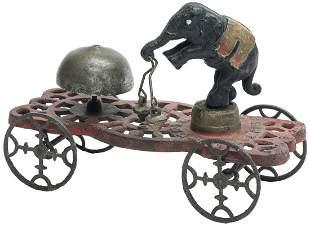 Elephant Bell Ringer Bell Toy