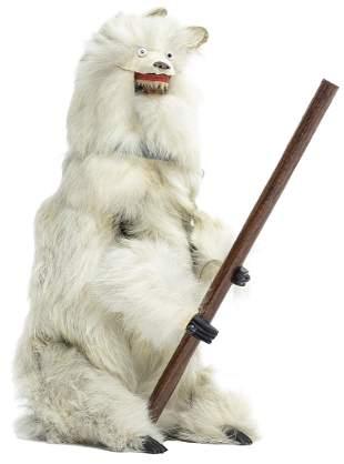 Polar Bear with Pole