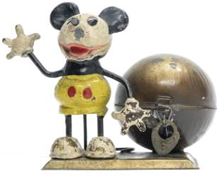 Mickey Mouse by Ball Spelter & Sheet Tin