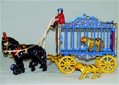 2: Royal Circus Tiger Cage Deluxe Plumed Horses