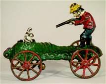 211 Rabbit Hunter Bell Toy   N N Hill