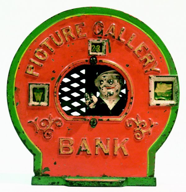 434: Picture Gallery Bank - Mechanical Bank