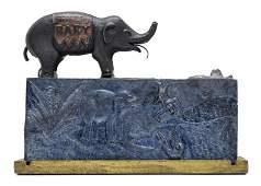Baby Elephant Unlocks at X O'Clock