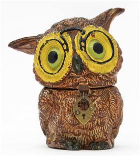 The Wise Owl Spelter Bank