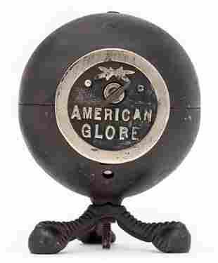 American Globe Safe on Ball & Claw Feet