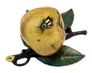 Apple on Three Leaves Iron Bank