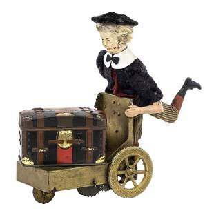 """Le Petit Livreur"" Windup Toy Fernand Martin"