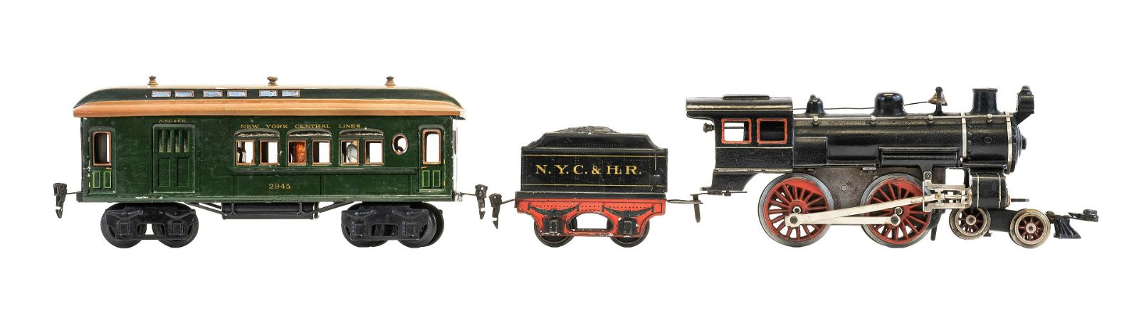 """Marklin """"New York Central Lines"""" Train Set with Box"""