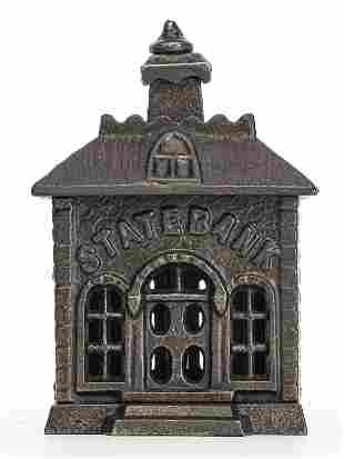 Scarce Small State Iron Bank