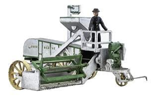 John Deere Farm Thresher Iron Toy