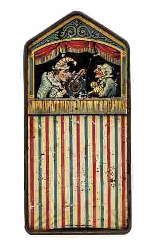 Tin Punch & Judy Bank