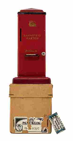 Railway Ticket Dispenser Bank