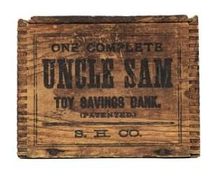 Uncle Sam Bank Box