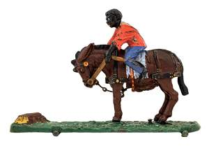 Spise the Mule Jockey Iron Toy