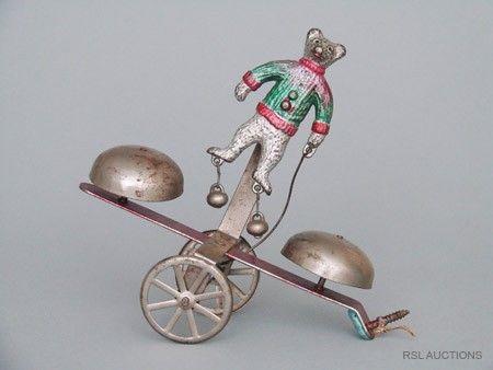 263: Teddy Bear Bell Toy