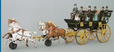 279: Four Seat Brake Pratt & Letchworth Toy Company