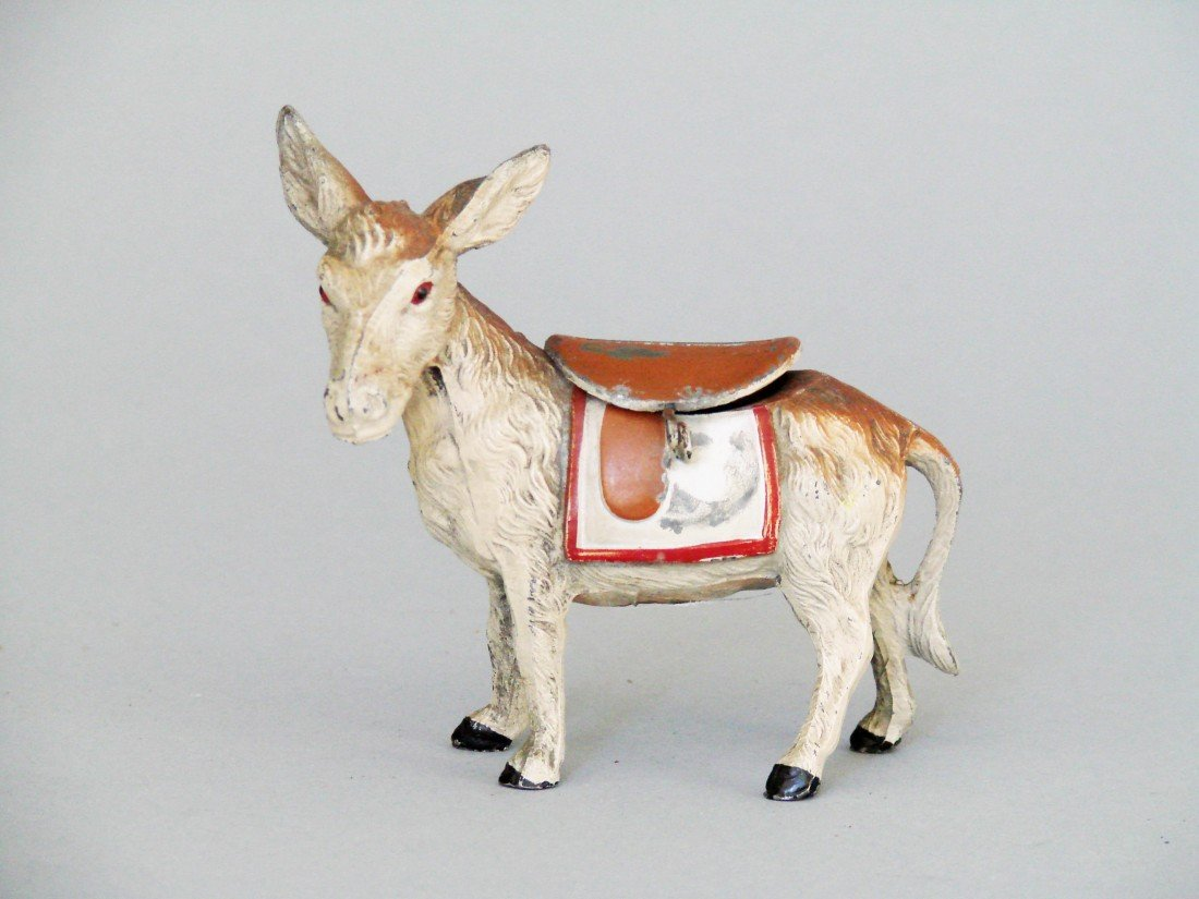 6: Donkey Looking Left, Tail Attached