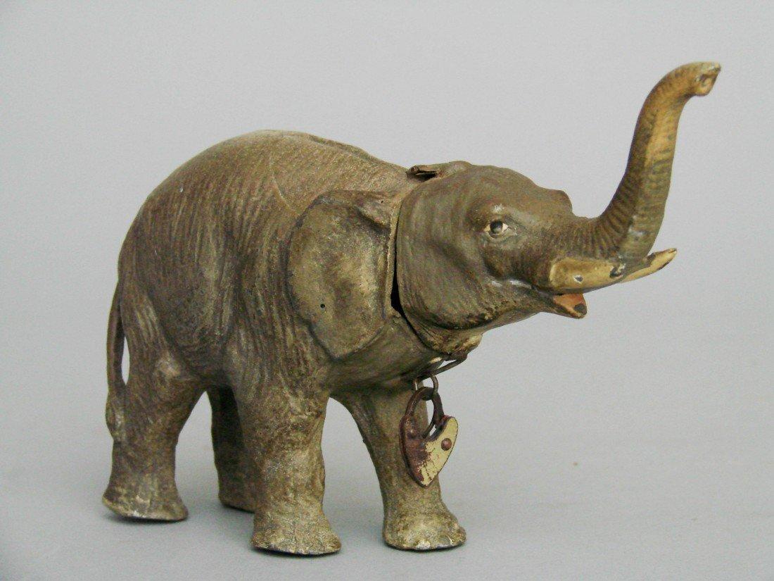 12: Elephant with Raised Trunk