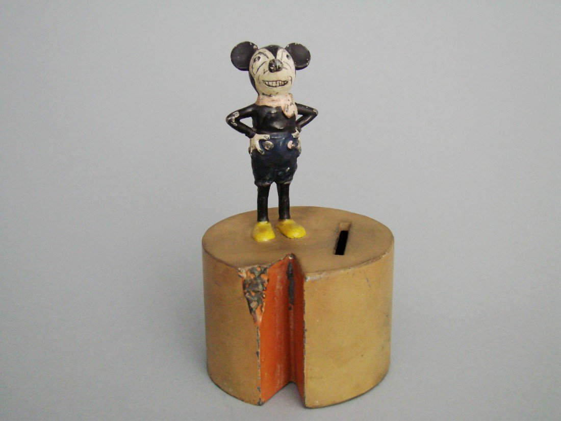 19: Mickey Mouse atop Cheese