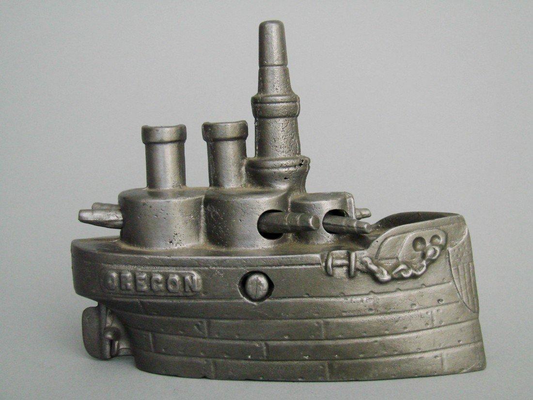 22: Battleship Oregon – Large (Lead Pattern)