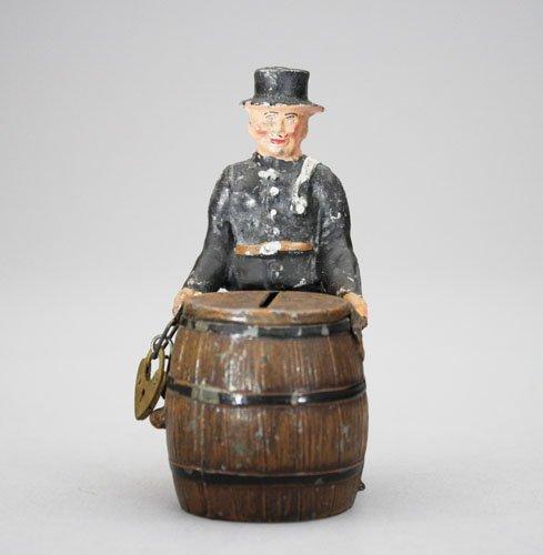6: Fireman by Barrel Still Bank