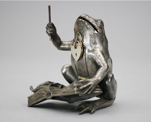 14: Conductor Frog Still Bank