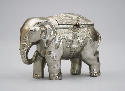15: Elephant with Howdah Still Bank
