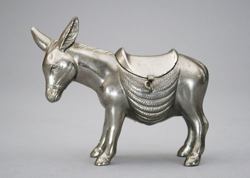 16: Donkey with Blanket Silver Lead Bank