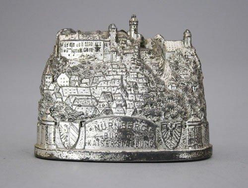 17: Nurnberg Castle Silver Lead Bank