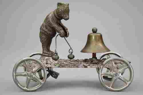 409: Teddy Bear Bell Toy