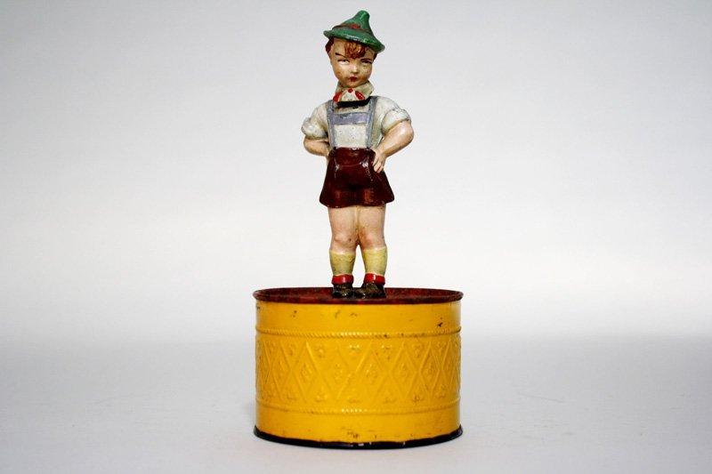 1: Boy on Tin Drum Still Bank