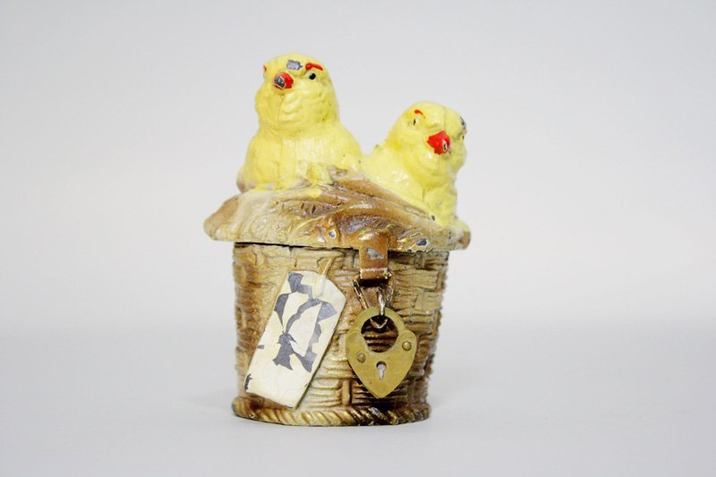 4: Two Chicks in a Basket Still Bank