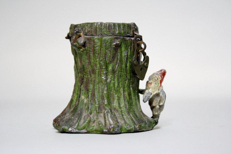 8: Elves by Tree Stump Still Bank