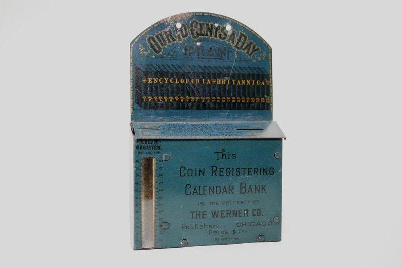 23: Coin Registering Calendar Bank Still Bank