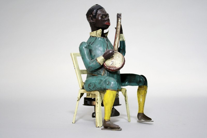 396: Black Banjo Player