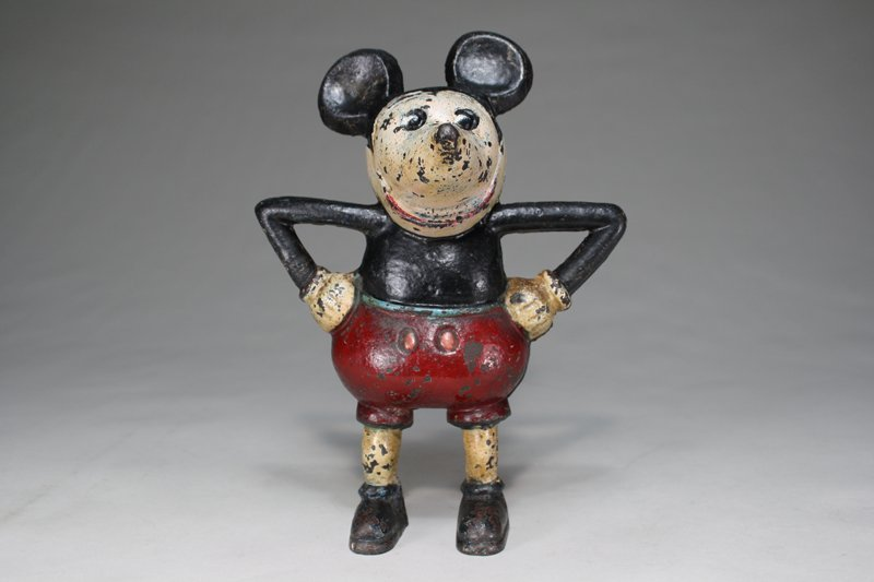 Mickey Mouse –Cast Iron Still Bank