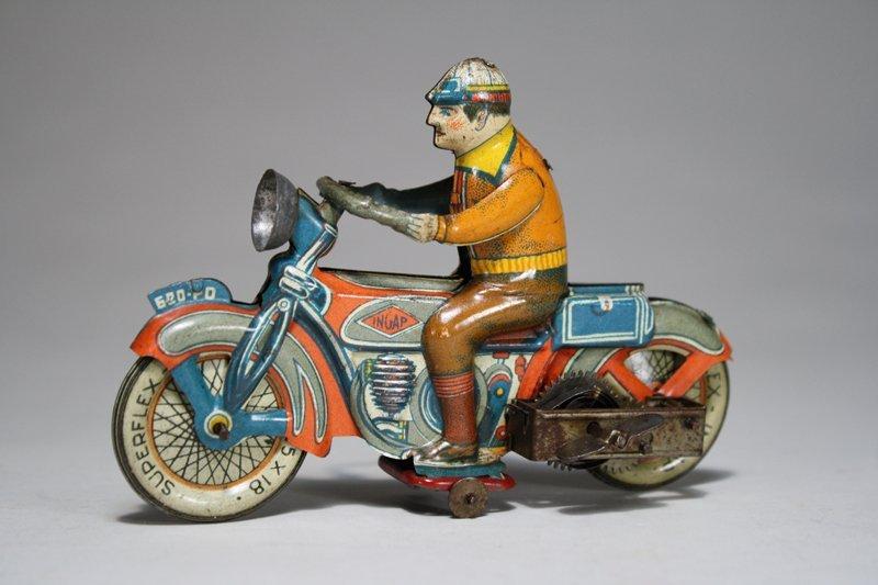 Civilian Motorcycle Windup