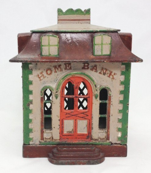 Home Bank with Dormers- Polychrome