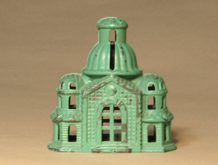 Domed Mosque - Green
