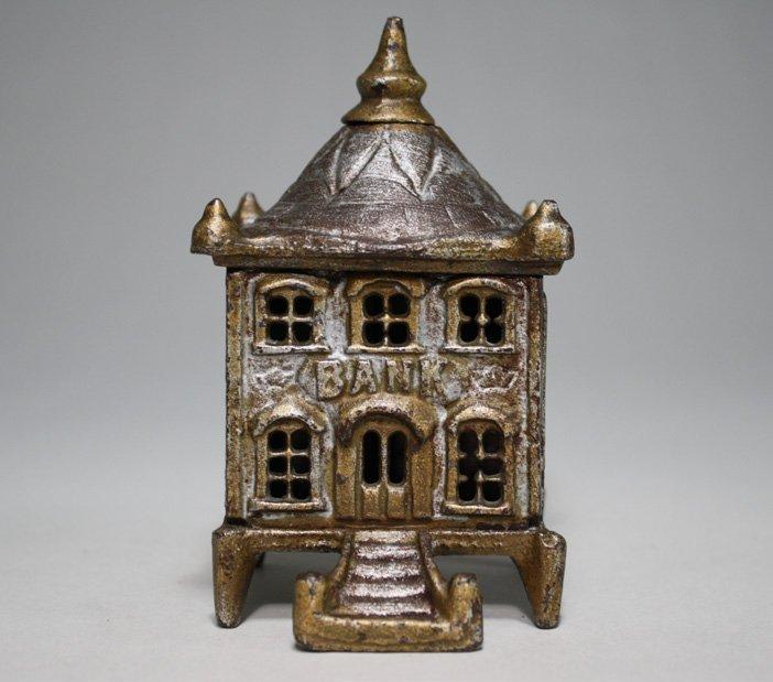 Pagoda Bank, Silver