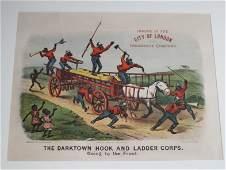 Lot Darktown Hook  Ladder Corps