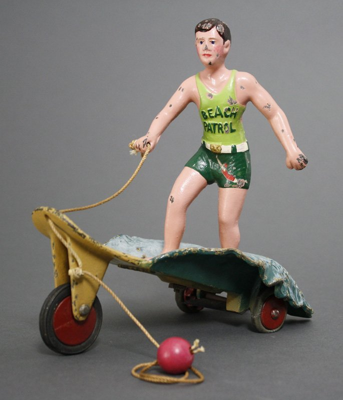 The Surfer Boy Cast Iron Hubley