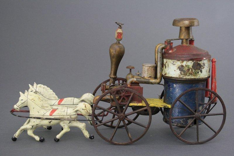 Early Clockwork Fire Pumper George Brown