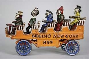 "Seeing New York"" Kenton Cast Iron"